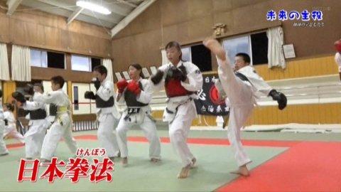 未来の主役 日本拳法