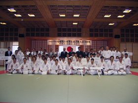 第1回愛媛県日本拳法選手権大会(団体戦)